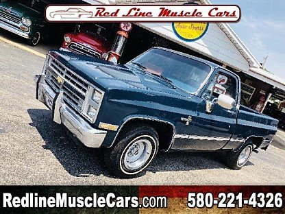 1987 Chevrolet C/K Truck 2WD Regular Cab 1500 for sale 101011791